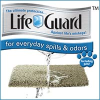 For life's everyday spills, you can't beat LifeGuard carpet from Shaw.
