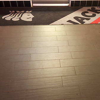 Black Jack Pizza Commercial Project by Carpet Masters of Longmont, Colorado