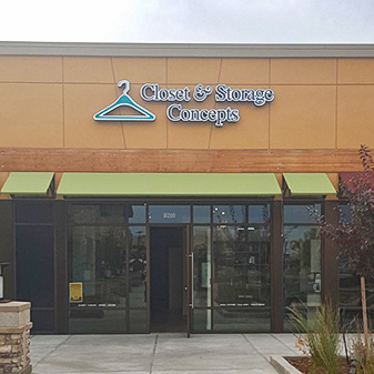 Closets & Storage Commercial Project by Carpet Masters of Longmont, Colorado