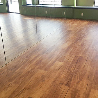 Full circle yoga Commercial Project by Carpet Masters of Longmont, Colorado