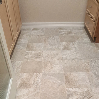 Sheet vinyl projects by Carpet Masters of Longmont, Colorado