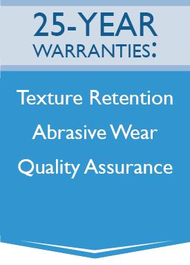 25-Year Warranties: Texture Retention, Abrasive Wear, Quality Assurance