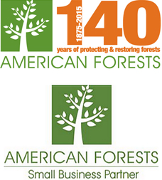 140 Years of protecting & restoring forest - American Forests Small Business Partner